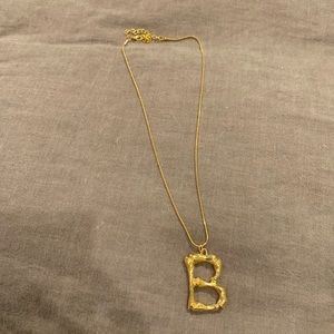 B Necklace!